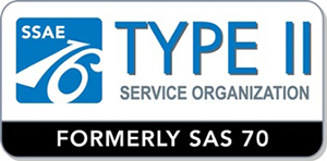 SSAE16 Type II Certified